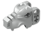 LEGO® Brick: Animal Wolf Head (53457) | Color: Silver flip/flop