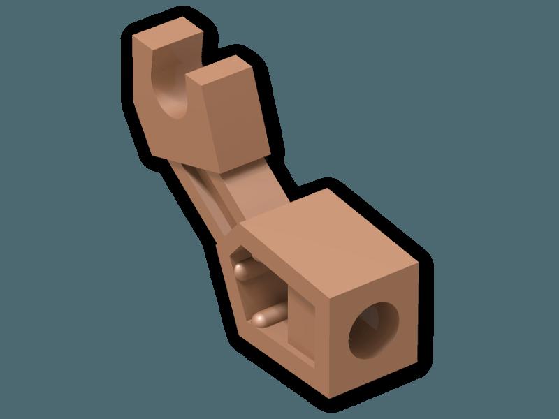 Lego 53989 Technic Greifer Mechanic Arm kupfer copper 4291054