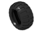 LEGO® Stein: Tyre 44/ 44 x 56 Off Road (54120) | Farbe: Black