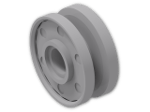 LEGO® Brick: Wheel Rim 8 x 18 with Deep Center Groove (56902) | Color: Medium Stone Grey