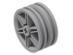 LEGO® Stein: Wheel Rim 14 x 30 with 6 Spokes and No Pegholes (56904) | Farbe: Medium Stone Grey