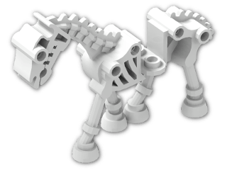 LEGO® Brick: Animal Horse Skeletal (59228) | Color: White