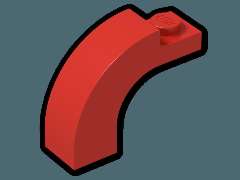 LEGO 6005 Brick Arch 1x3x2 Curved Top x2