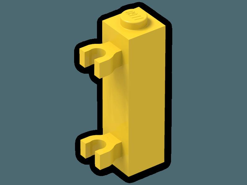 LEGO 60583 Brick 1X1X3 W 2 Clip-scelta colore-PT-B-11