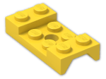 LEGO® Brick: Car Mudguard 2 x 4 with Central Hole (60212) | Color: Bright Yellow