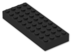 LEGO® Brick: Brick 4 x 10 (6212) | Color: Black