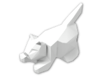 LEGO® Brick: Animal Cat Crouching (6251) | Color: White