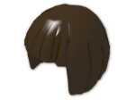 LEGO® Stein: Minifig Hair Short Bob Cut (62711) | Farbe: Dark Brown