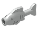 LEGO® Stein: Animal Fish Straight (64648) | Farbe: Silver flip/flop
