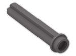 LEGO® Stein: Technic Axle 3 with Stud (6587) | Farbe: Dark Stone Grey