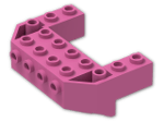 LEGO® Stein: Wedge 4 x 6 x 1.667 Inverted with Studs on Front Side (87619) | Farbe: Bright Purple