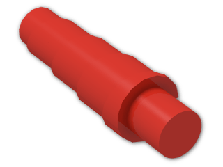 LEGO® Brick: Animal Horn Spiral (89522) | Color: Bright Red