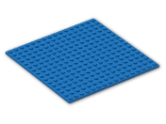 LEGO® Brick: Plate 16 x 16 with Underside Ribs (91405) | Color: Bright Blue