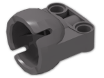 LEGO® Brick: Technic Ball Joint 2.25 Diameter Socket (92911) | Color: Dark Stone Grey