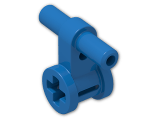 LEGO® Brick: Technic Pneumatic Hose Connector with Bush (99021) | Color: Bright Blue