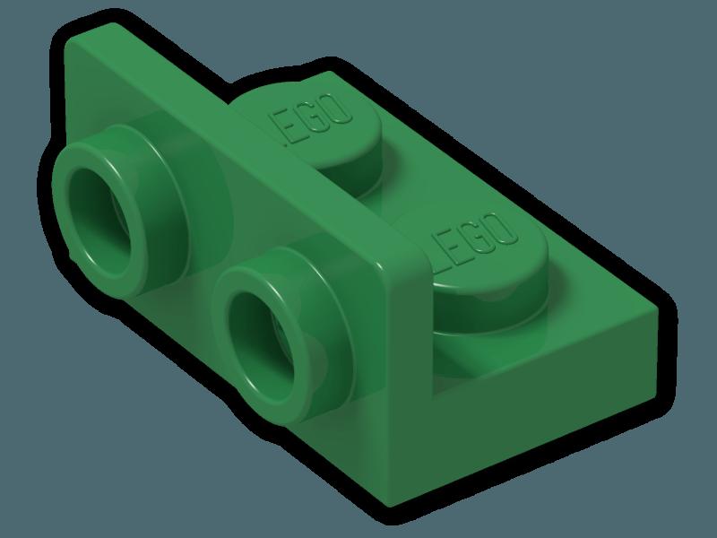 LEGO Dark Bluish Gray Bracket 1x2-1x2 Inverted Lot of 100 Parts Pieces 99780