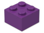 LEGO® Brick Color: Bright Violet