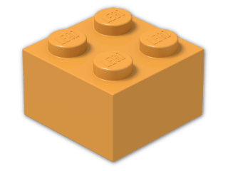 LEGO® Stein Farbe: Bright Yellowish Orange