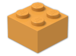LEGO® Brick Color: Bright Yellowish Orange