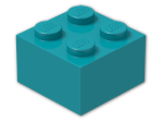 LEGO® Brick Color: Bright Bluish Green