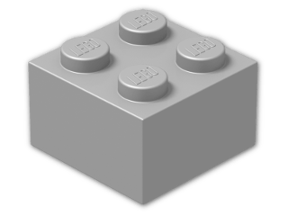 LEGO® Brick Color: Silver