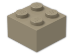 LEGO® Brick Color: Sand Yellow