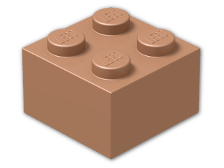 LEGO® Brick Color: Copper