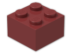 LEGO® Stein Farbe: New Dark Red