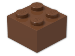 LEGO® Stein Farbe: Reddish Brown