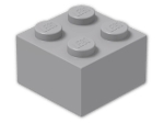 LEGO® Stein Farbe: Medium Stone Grey