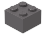 LEGO® Brick Color: Dark Stone Grey