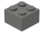 LEGO® Brick Color: Dark Grey