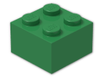 LEGO® Brick Color: Dark Green