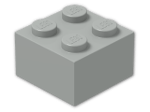 LEGO® Brick Color: Grey