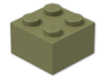 LEGO® Stein Farbe: Olive Green