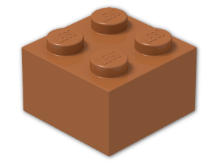 LEGO® Stein Farbe: Dark Orange