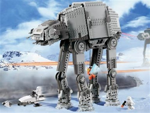LEGO® Star Wars™ Motorized Walking AT-AT (10178-1) released