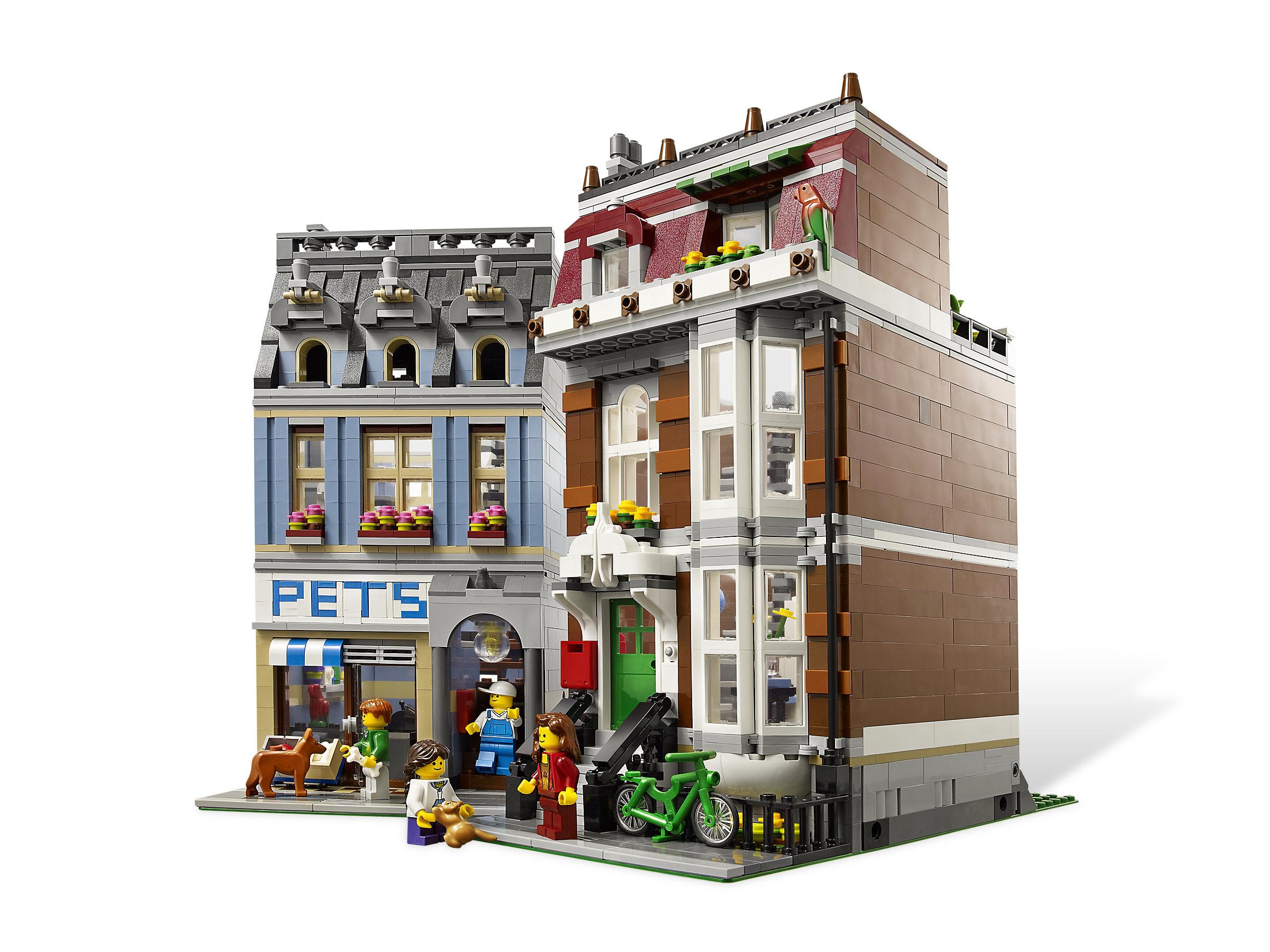 LEGO 10218 Creator Pet Shop Modular Buildings New in Sealed Box
