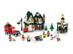 LEGO® Seasonal Winter Village Post Office (10222-1) released in (2011) - Image: 1