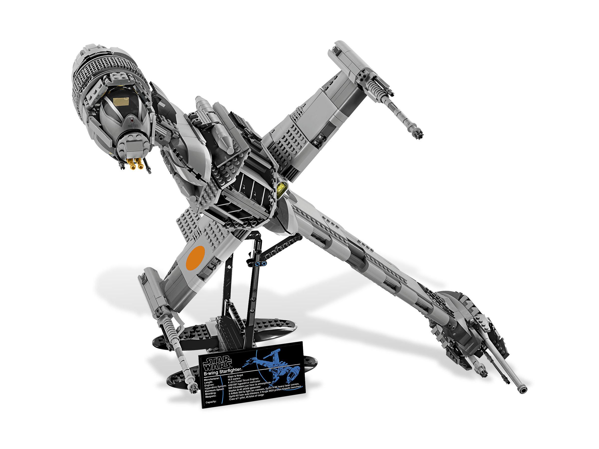B Wing Starfighter Star Wars 10227 1 Lego 75098 Assault On Hoth