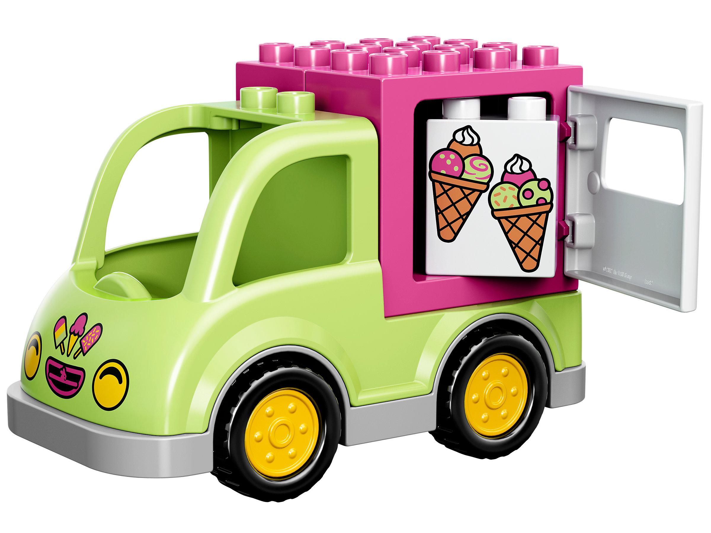 New Sealed Box LEGO DUPLO #10586  Ice Cream Truck