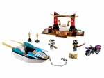 LEGO® Juniors Zane's Ninja Boat Pursuit (10755-1) released in (2018) - Image: 1