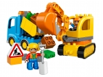 LEGO® Duplo Truck & Tracked Excavator (10812-1) released in (2016) - Image: 1