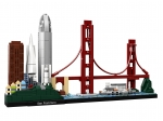 LEGO® Architecture San Francisco (21043-1) erschienen in (2019) - Bild: 1