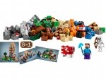 LEGO® Minecraft Crafting-Box (21116-1) released in (2014) - Image: 1