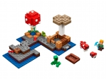 LEGO® Minecraft The Mushroom Island (21129-1) released in (2017) - Image: 1
