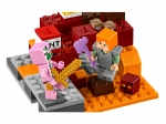 LEGO® Minecraft The Nether Fight (21139-1) released in (2018) - Image: 6
