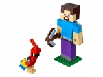 LEGO® Minecraft Minecraft™ Steve BigFig with Parrot (21148-1) released in (2019) - Image: 1