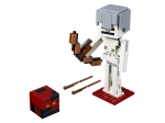 LEGO® Minecraft Minecraft™ Skeleton BigFig with Magma Cube (21150-1) released in (2019) - Image: 1