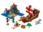 LEGO® Minecraft The Pirate Ship Adventure (21152-1) released in (2019) - Image: 1